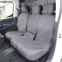 Citroen Berlingo Tailored Front Seat Covers - Grey (2018 Onwards)